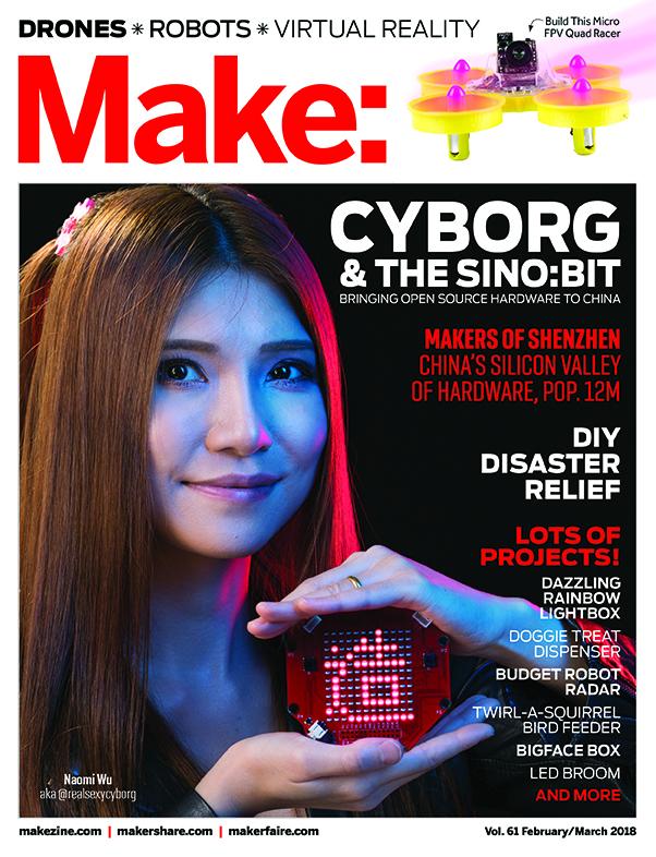 Make: Magazine Cover