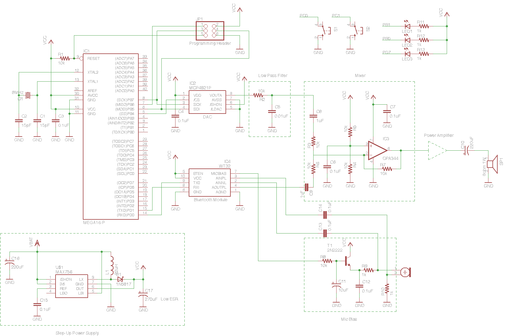 How To Make A Star Trek Bluetooth Communicator