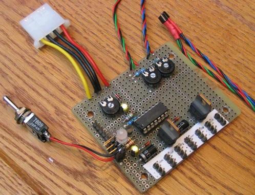 DIY PC Fan speed controller   Make: