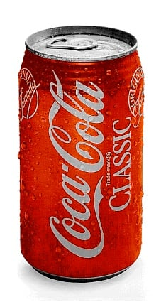 How long in the freezer does it take to chill a Coke from