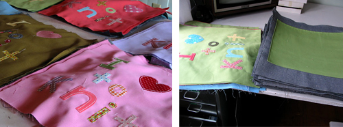 Knittote Process