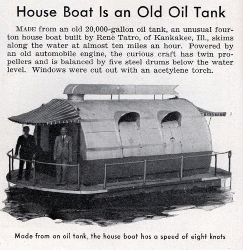 Lrg Oil Tank Boat