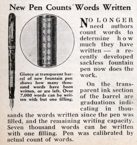Med Word Counting Pen