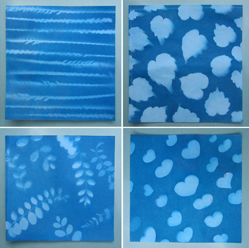 How To Make Sunprint Paper Patterns Make