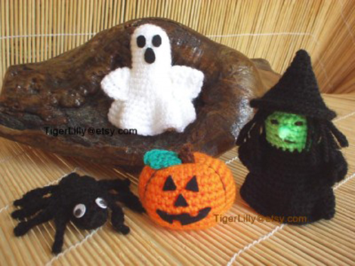 5 Free Halloween Amigurumi Crochet Patterns | Halloween crochet ... | 375x500