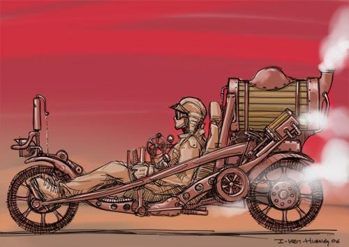 Steampunk Bike2