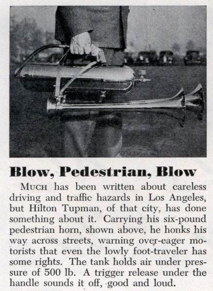 Lrg Blow Pedestrian Blow