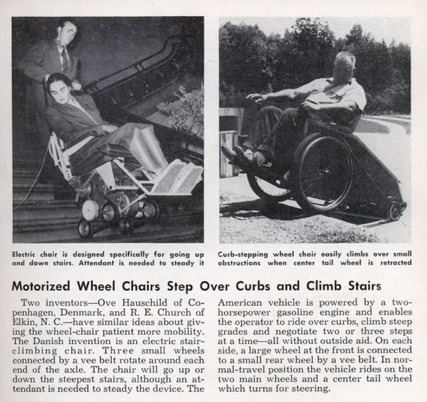 Med Motorized Wheelchair