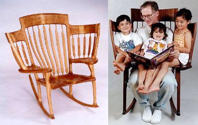 Big Family Rocking Chair