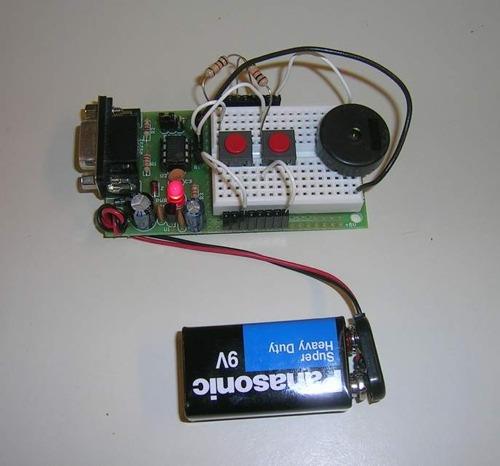 Picaxe Metronome 1