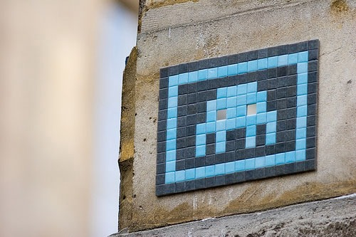 Space Invaders Worldwide Art