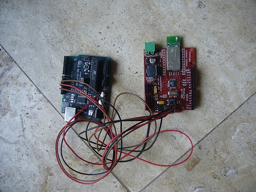 Avr icsp breadboard adapter make