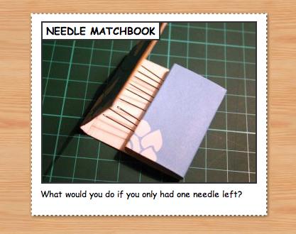 Needlematchbook