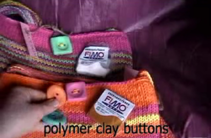 Polymerclaybuttons
