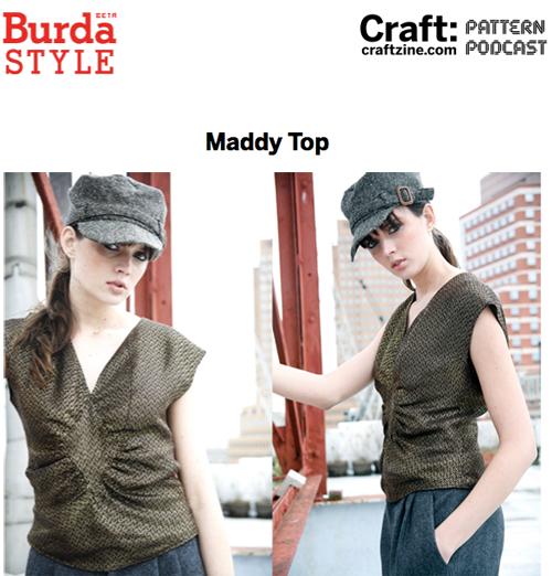Craftpodcast Burda Maddy