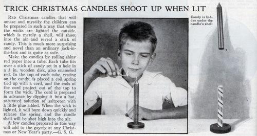 Lrg Trick Candle
