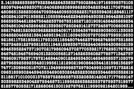 Math Pi Decimal Matrix