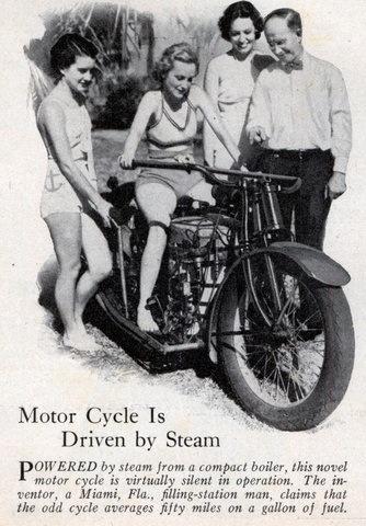 Med Steam Motorcycle
