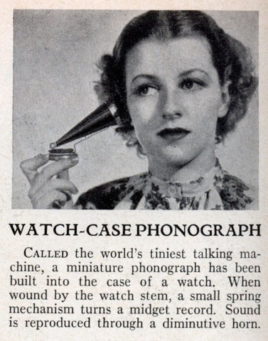 Med Watch Phonograph