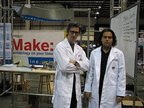 Phil and Bre at Maker Faire