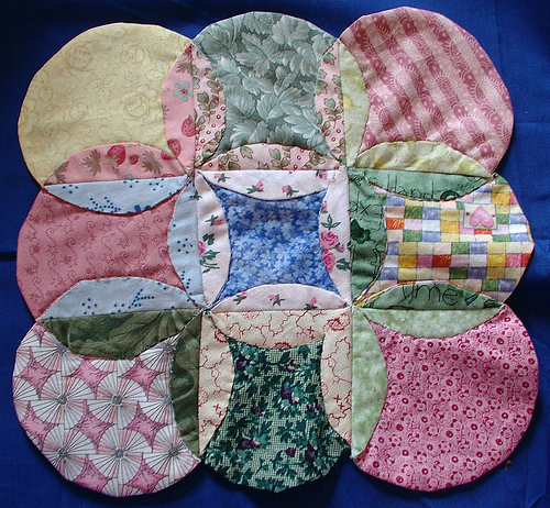 Mock Cathedral Windows Quilting Tutorial Make