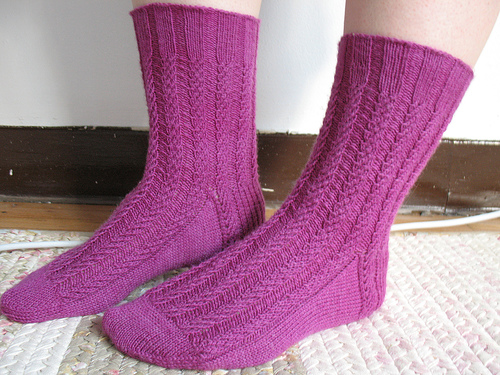 9 To 5 Socks Knit Pattern Make
