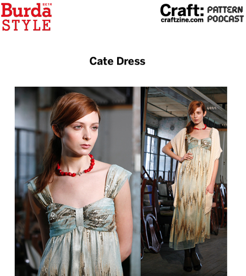 Craftpodcast Burda Catedress
