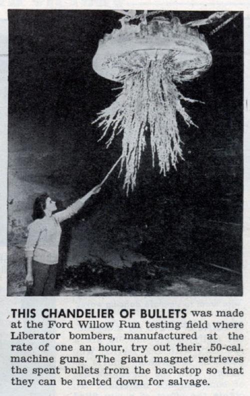 Lrg Bullet Chandelier