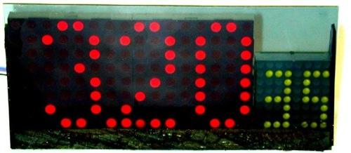 Electronics Clocks Matrix Clock12M