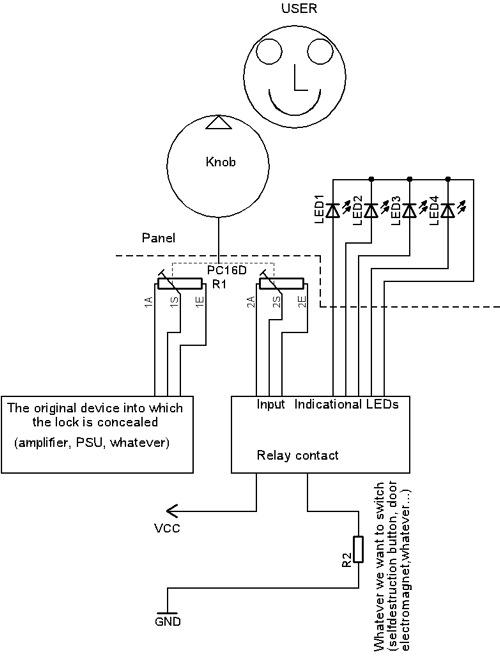 Img Projects Codelock Block Schematic