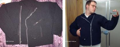 Crochetleatherjacket