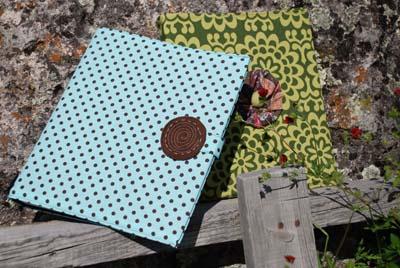 fabric binder cover tutorial make