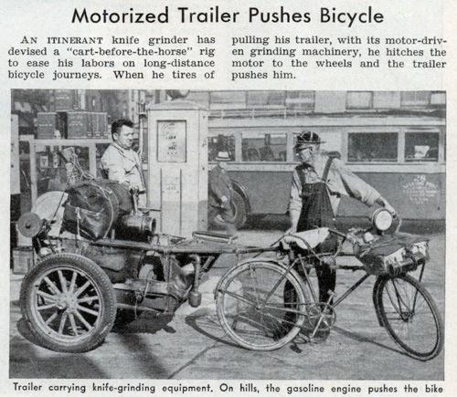 Lrg Motorized Trailer