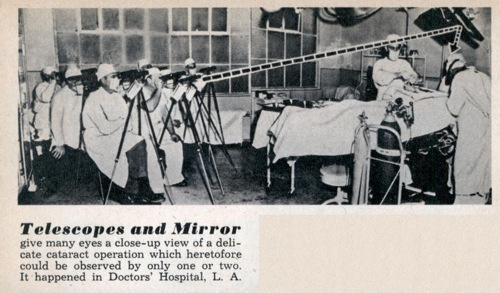 Lrg Telescope Mirror