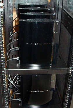 Ps3 Supercomputer 250X