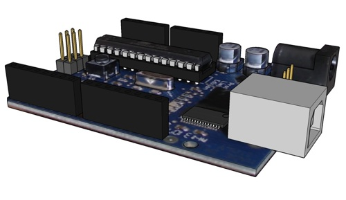 Arduino sketchup model make