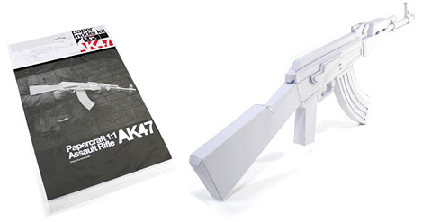 Papercraft AK-47 | Make: