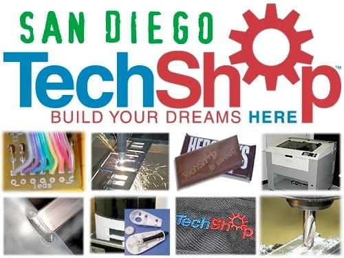 Techshop San Diego Make Blog