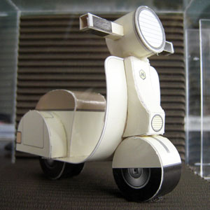 cut out scooter