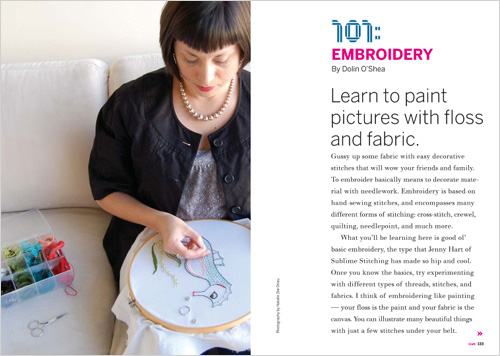 Embroidery101