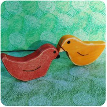 Handmade-Toy-Birds