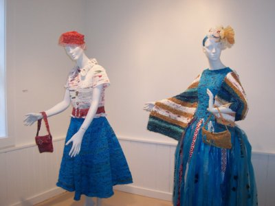 recycled plastic dresses
