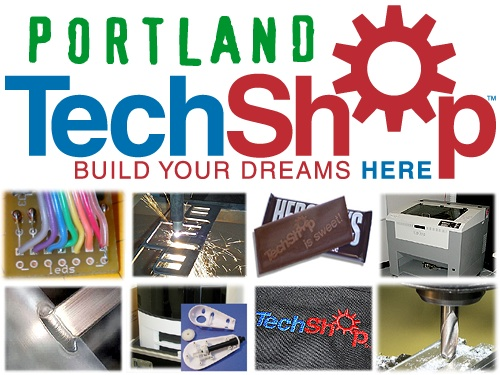 Techshop Portland Make Blog