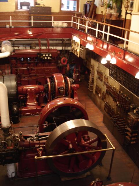 Aircraft Carrier Engine Room: Conrad Milster's Steam Power Plant @ Pratt Institute