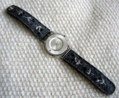 Feltedwatchband