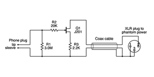 In-Cable Preamp Schem