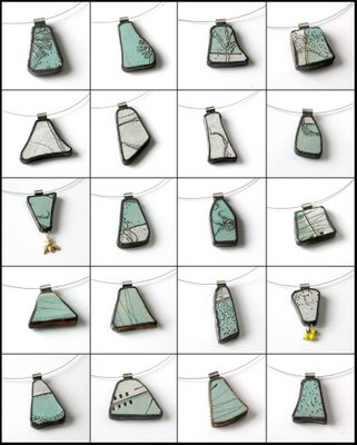 diana fayt plate necklaces