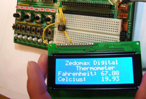 Ethernet Temp Monitor