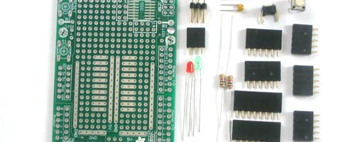 Arduino Protoshield Kit Crop