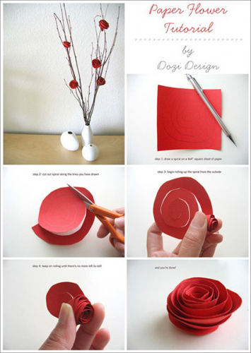 How to make paper flowers make paperflowersdiyg mightylinksfo